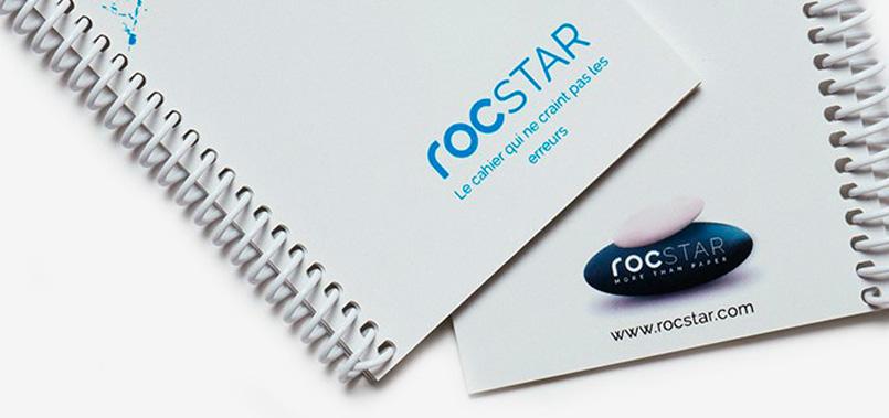 rocStar perpetuel papier mineral