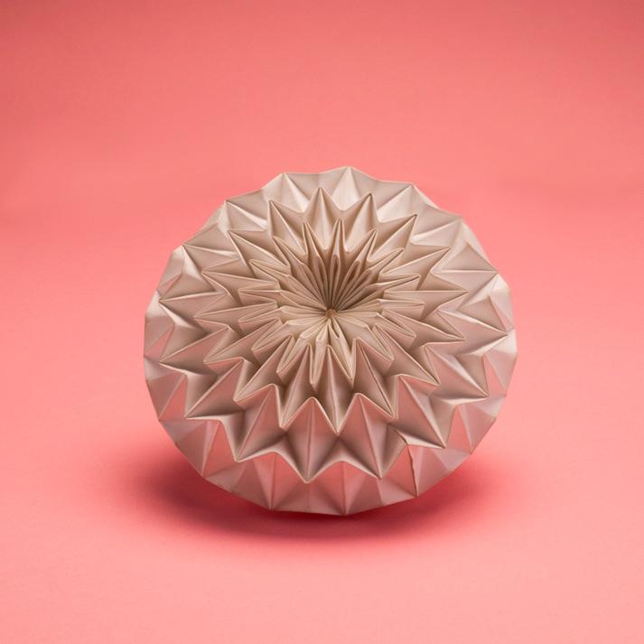 pli origami papier mineral