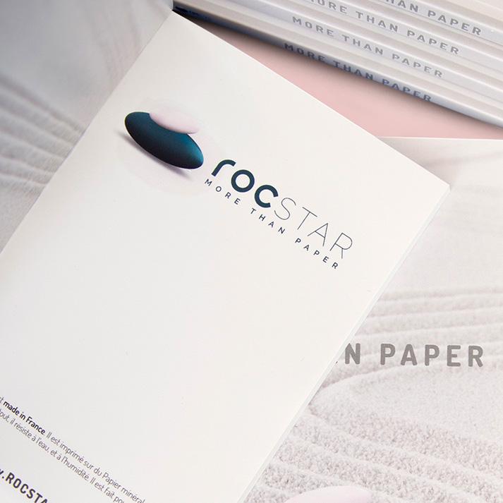 carnet papier mineral